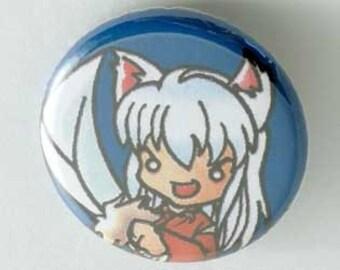 Inu Yasha Button