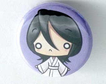 Bleach- Rukia Button