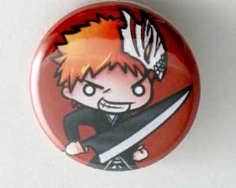 Bleach- Ichigo Button
