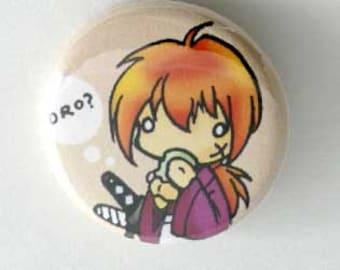 Rurouni Kenshin Button