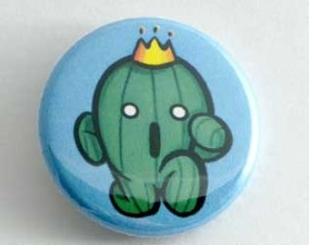Final Fantasy - Cactaur Button