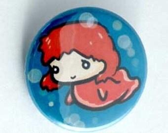 Ponyo - Ponyo Button