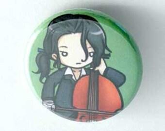 Chibi Anime Button: Hagi
