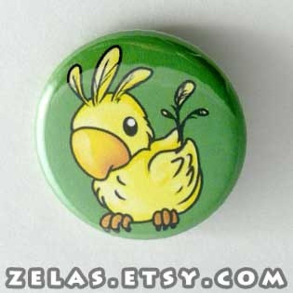 Final Fantasy - Chocobo Button