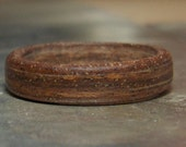 Natural Walnut Wood Ring - Sizes 7, 7.5