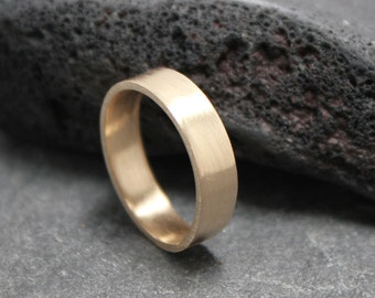 14K Gold 4mm Wedding Ring Band