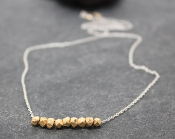 NINE NUGGETS necklace