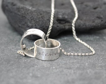 INFINITY & BEYOND Rolling Rings Necklace
