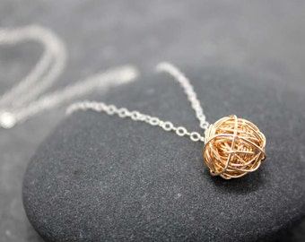 ORGANIC LOVE KNOT necklace