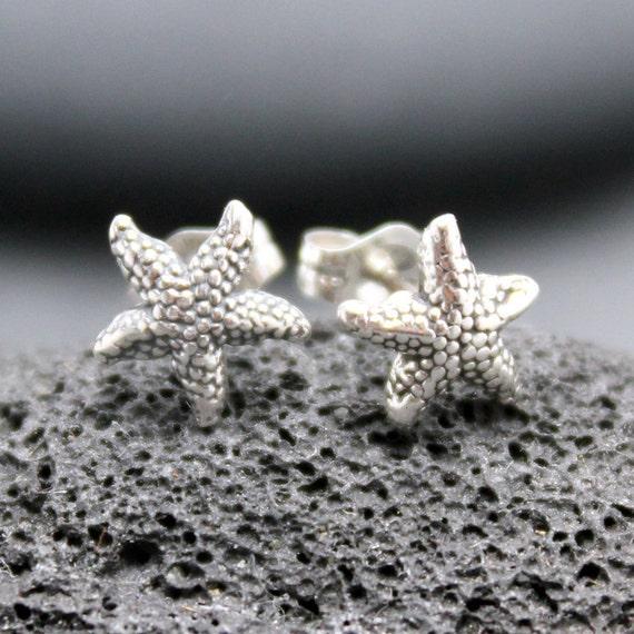 STARFISH stud post earrings