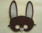 Brown Rabbit Child Mask