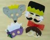 Nutcracker Mask Set with US Priority Shipping