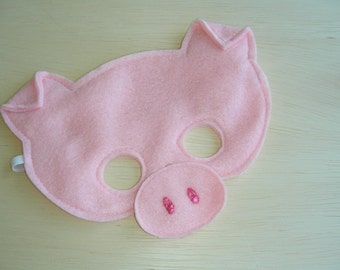 Child Size Pig Mask
