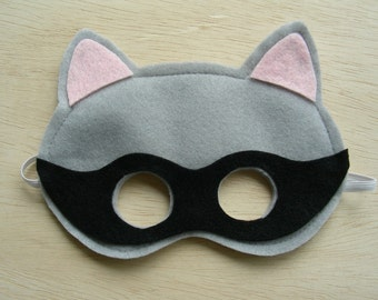 Raccoon Mask for children