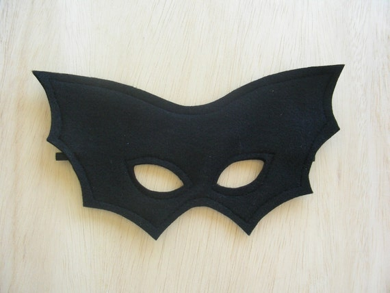 Child Size Bat Mask
