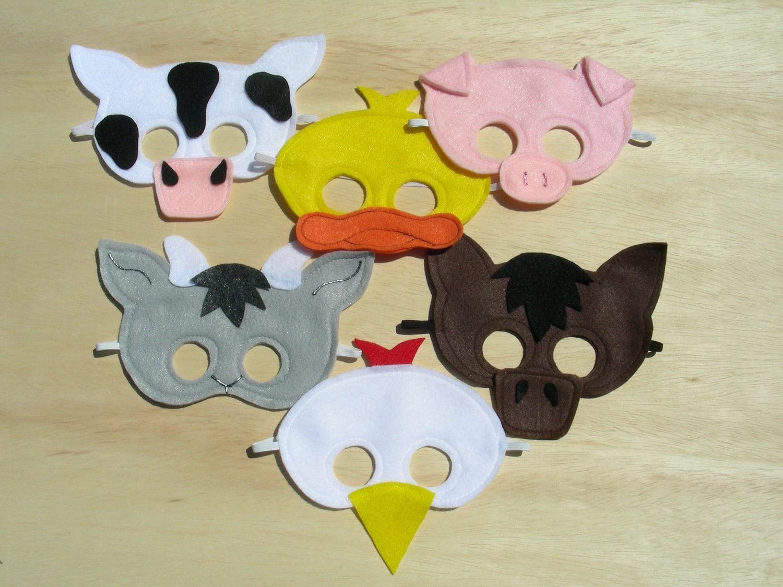 Animal masks - deals on 1001 Blocks