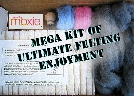 Mega Kit of Ultimate Felting Enjoyment