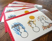 Holiday Cards - Four Seasons - Special Edition Pack