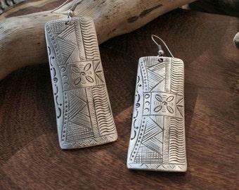 Thai Hill Tribe Earrings/Handmade/Tribal/Boho/Asian/ Gypsy Wear/ Hippie/Summer Wear/Gift for Her/SALE