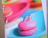 Macaroon Postcard with envelope