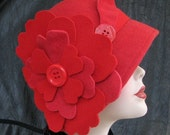 Adorable Cloche of Red