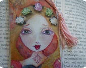 Princess Art Print Bookmark, Bestseller, Pink, Fairy Tales, Children's Art, Inspirational Art
