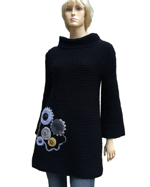 Find long black sweater tunic at ShopStyle. Shop the latest collection of long black sweater tunic from the most popular stores - all in one place.