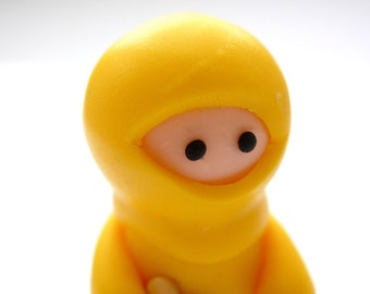 Yellow Ninja with Heart