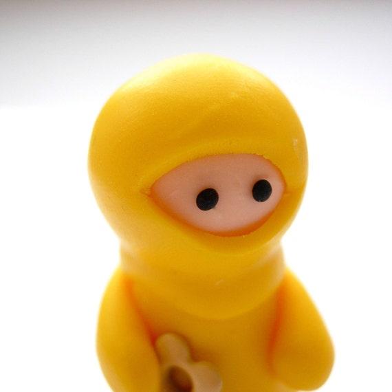 Yellow Ninja with Heart