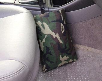 Auto Trash Bag, Car litter bag, Camoflouge for DAD