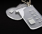 SALE Science Necklace Chemistry Beaker or Flask - your choice