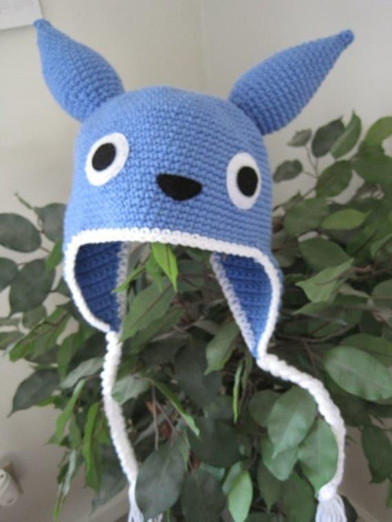 Crochet Pattern Totoro Hat : Totoro crochet hat by shifumidesigns on Etsy