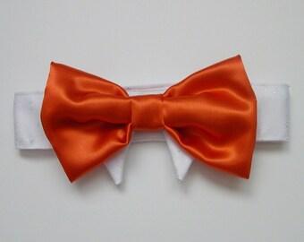 Dog Bow Tie : New Color Tango Tangerine