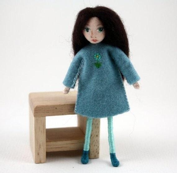 Little Felt Friend doll- Waldorf inspired