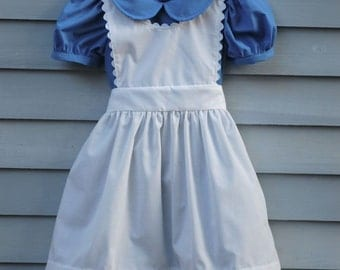 Girl, size 4/5, Alice in Wonderland costume.