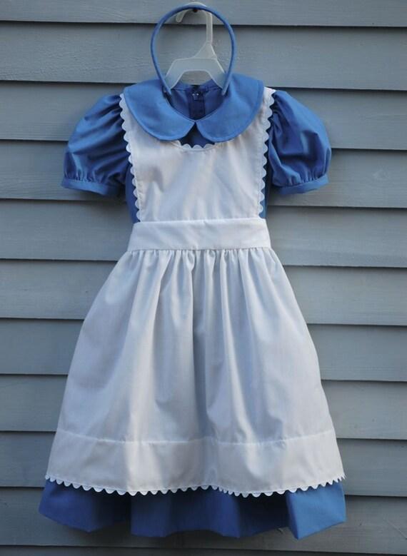 Girl, size 2/3, Alice in Wonderland costume.
