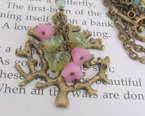 Blossoming Tree Necklace