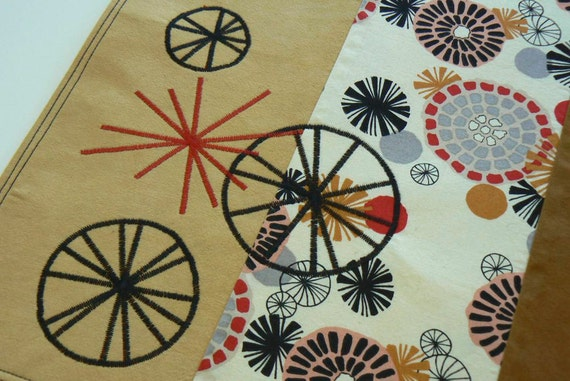 Wheel Goes Round Place Mats - Set of 4