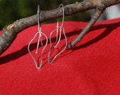Silver Leaves Earrings