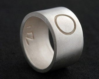 O Eternity Sterling Silver Commitment Band