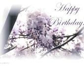 Wisteria Happy Birthday Card - Etsy Greetings