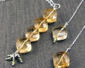 Citrus Lover Citrine and Peridot Set