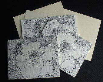 Set of 3 Blank Note Cards
