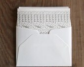Cable Knit: Letterpress Folded Cards & Envelopes (6ct)