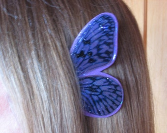 Purple Butterfly Fairy Ear Wings