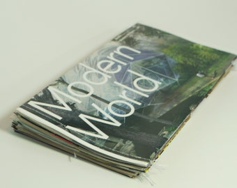 Handmade Recycled Envelopes. Set of 20. Made from Old Magazines.