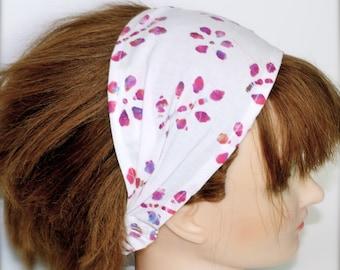 Comfy Batik Floral Headband