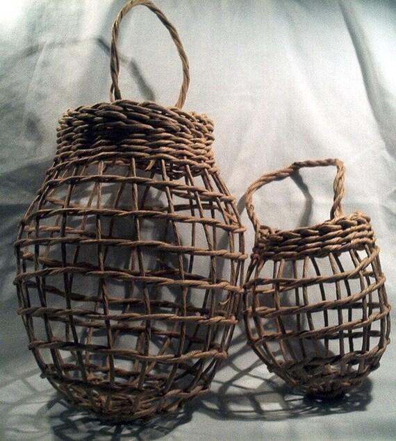 Garlic And Onion Basket Set 2 Piece Set By Basketrybotanica