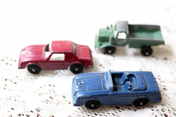 Vintage Metal Cars, Marx Tootsie Toy