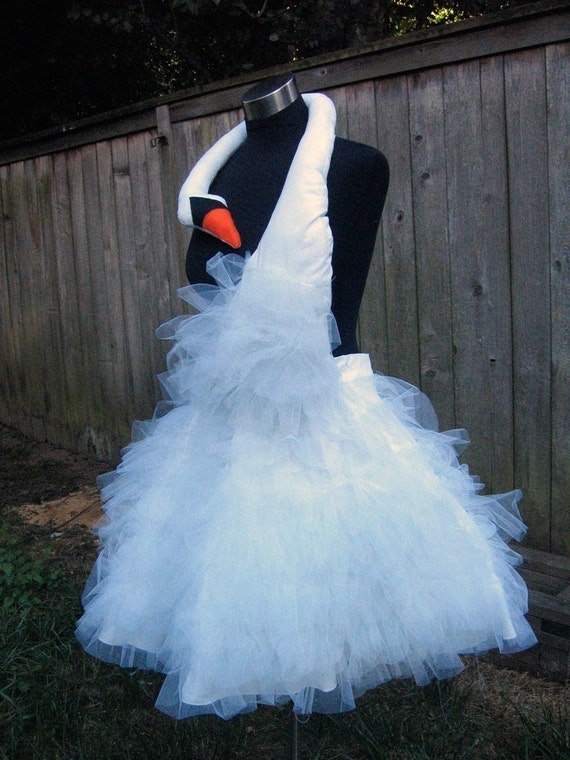 Custom listing for stellaisabella Bjork Swan Party Dress Halloween Costume